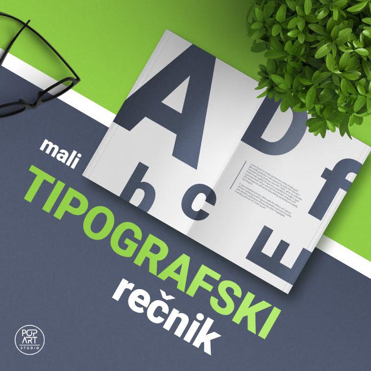 Tipografski rečnik (srpsko-engleski)