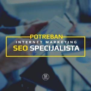 Potreban stručnjak za SEO / internet marketing