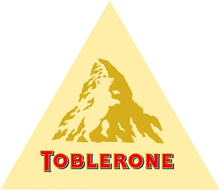 Toblerone logo hidden message