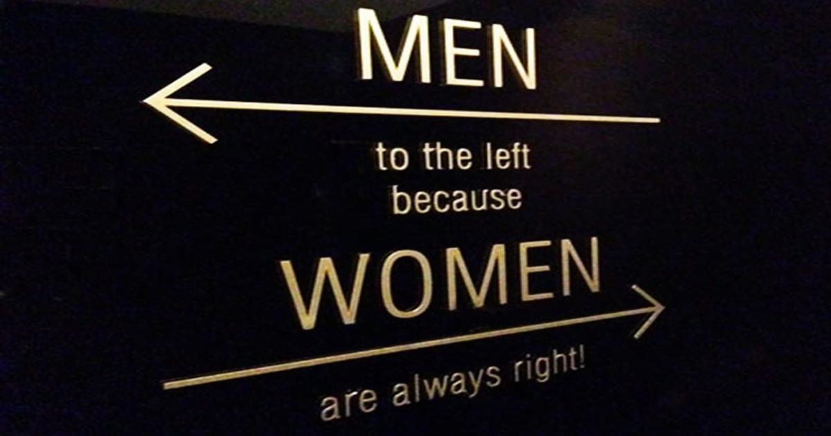 20 Najkreativnijih znakova za toalet