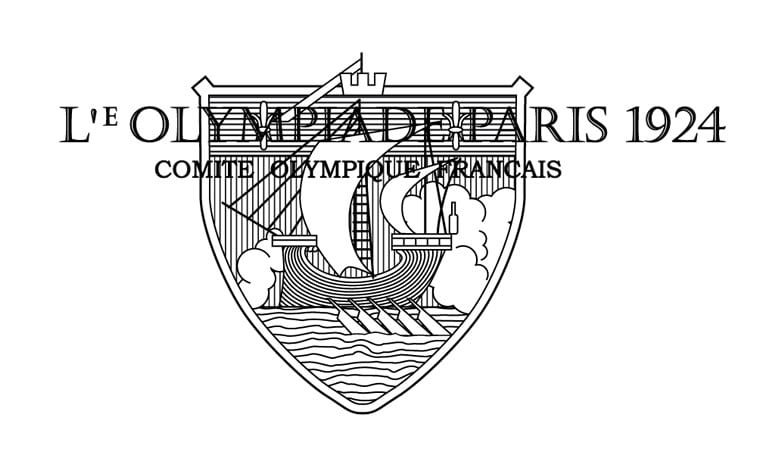 1924 paris summer olympics logo