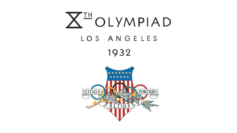 1932 summer olympics los angeles logo