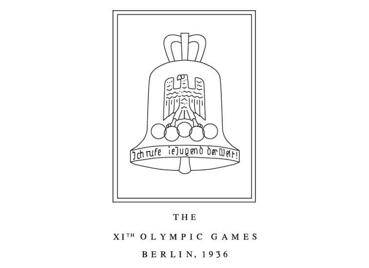 1936 berlin olympic logo