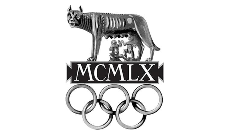 1960 rome italy olympics logo