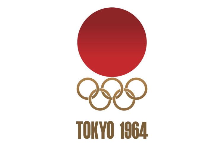 1964 tokyo summer olympics logo