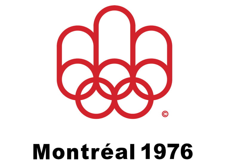 1976- montreal summer olympic logo