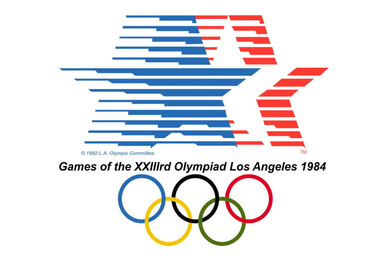 1984 los angeles summer olympics logo