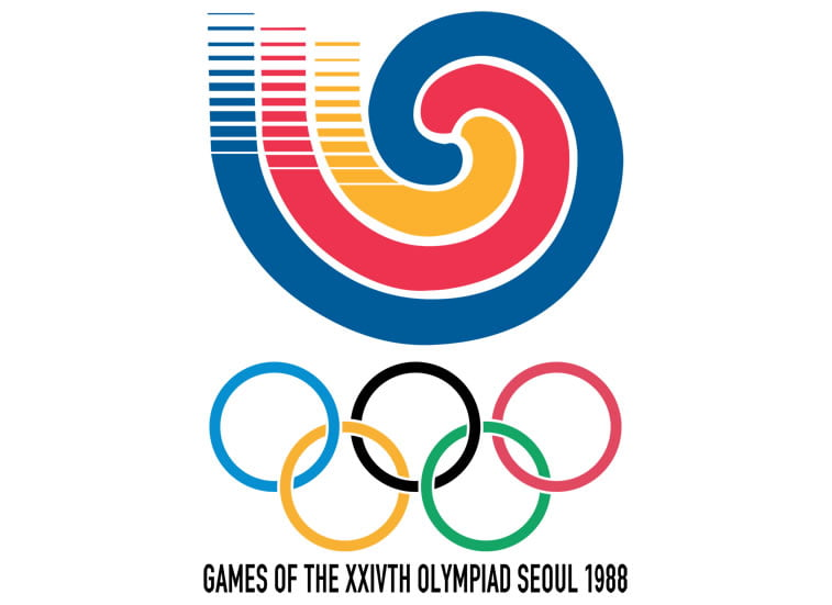 1988 seoul summer olympic logo