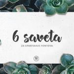 6 saveta za uparivanje fontova