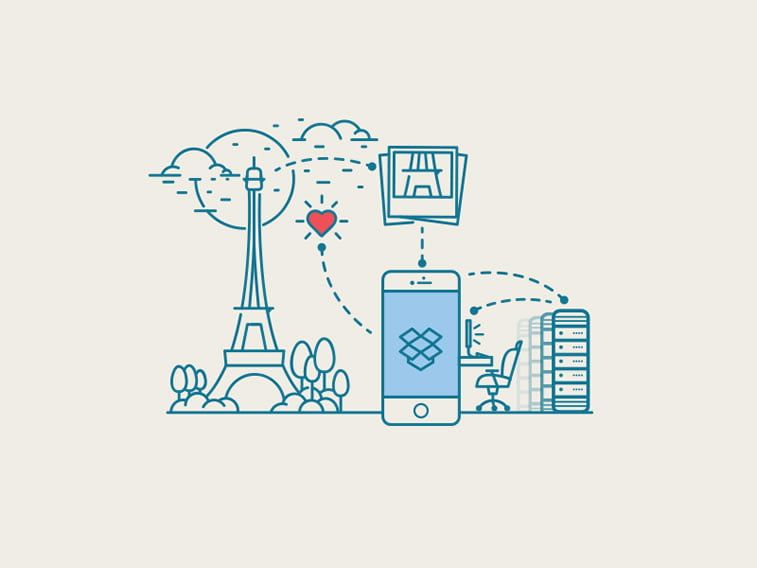 Dropbox illustration
