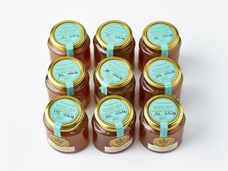 etikete za med fortnum and mason queen bee (3)