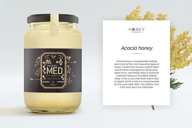 etikete za med honey days (1)