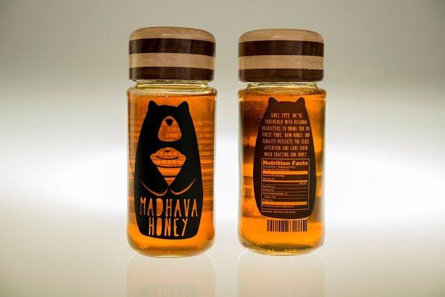 etikete za med madhava honey rebrand (2)