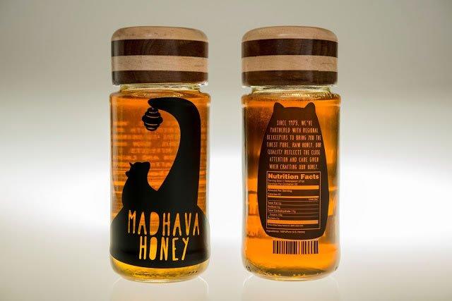 dizajn etikete za med madhava honey rebrand (3)