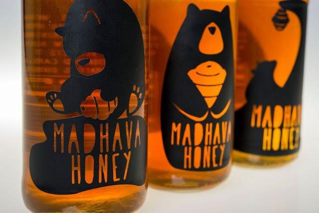 dizajn etikete za med madhava honey rebrand (4)