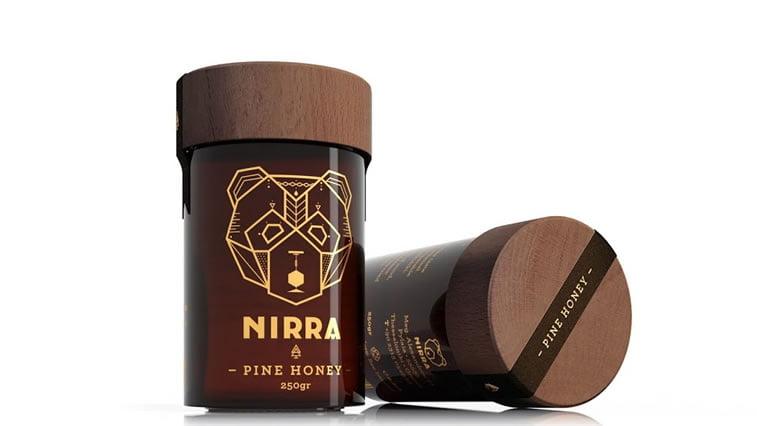 dizajn etikete za med nirra honey (3)