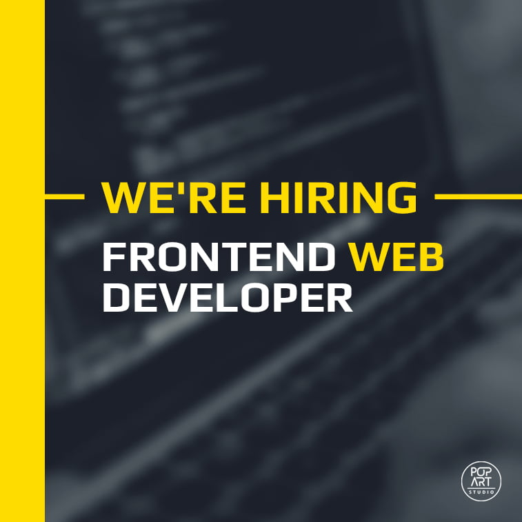 Frontend web developer