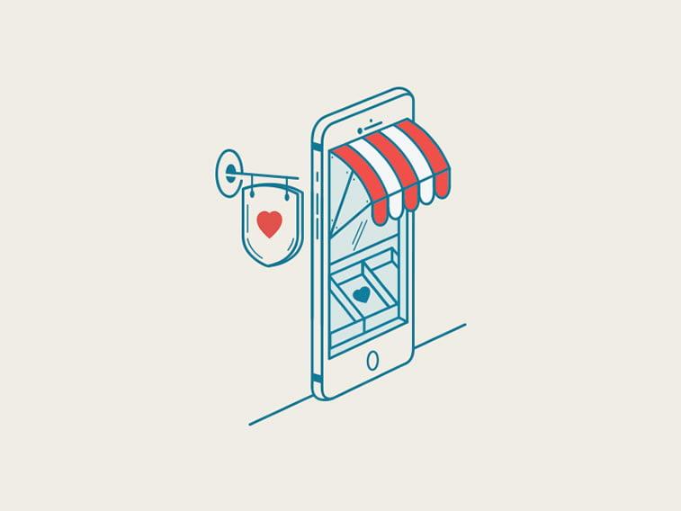 Heart shop