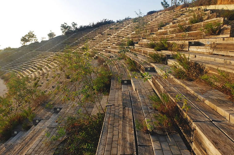 napusteno olimpijsko selo atina 2004 tribine kajak