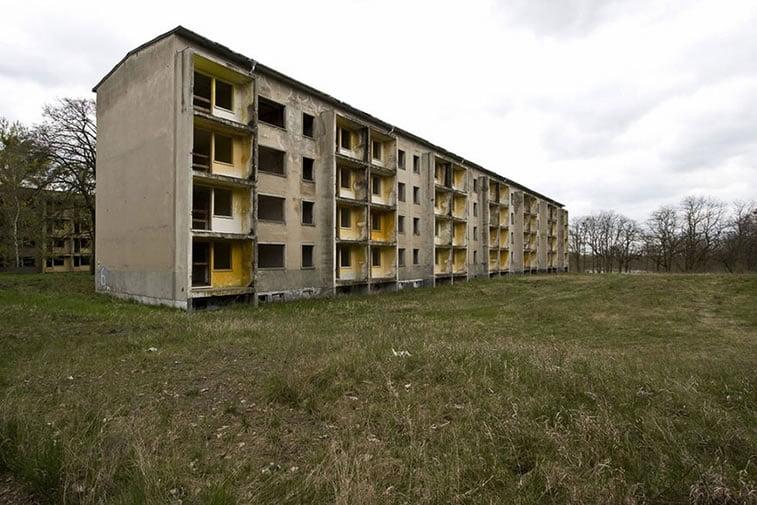 napušteno olimpijsko selo berlin 1936 zgrade