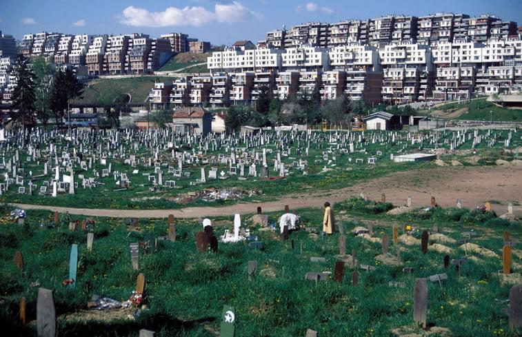 napušteno olimpijsko selo sarajevo 1984 groblje umesto sela