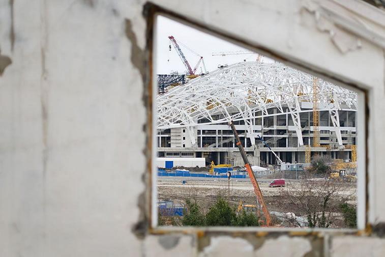 napušteno olimpijsko selo sochi 2004 centralni stadion