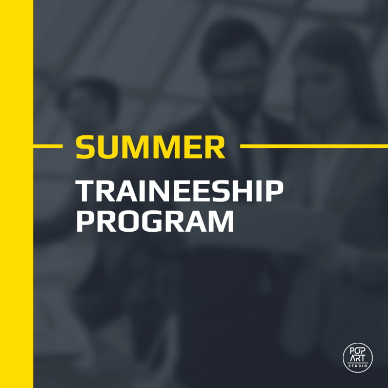 Traineeship program at PopArt Studio