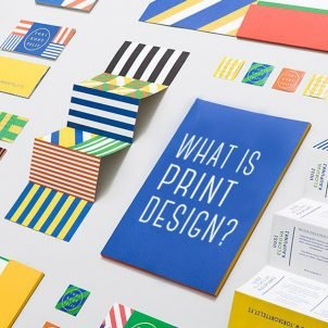 What is print design?