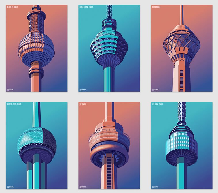coen pohl isometric observation towers 7