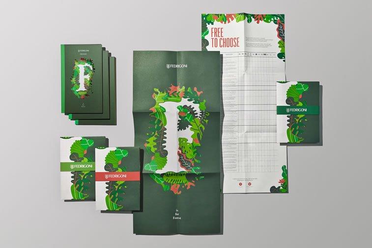 dizajn brošure sa odličnim ilustracijama inspiracija 1