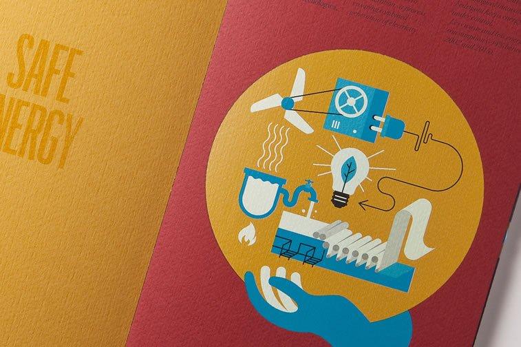 dizajn brošure sa odličnim ilustracijama inspiracija 14
