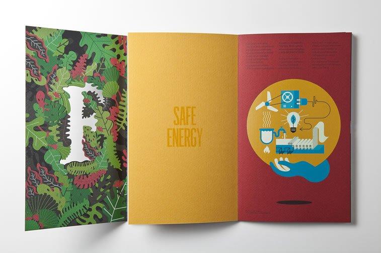 dizajn brošure sa odličnim ilustracijama inspiracija 8