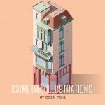 isometric illustrations by coen pohl