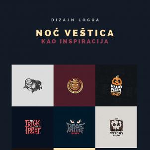 Dizajn logoa: Noć veštica kao inspiracija