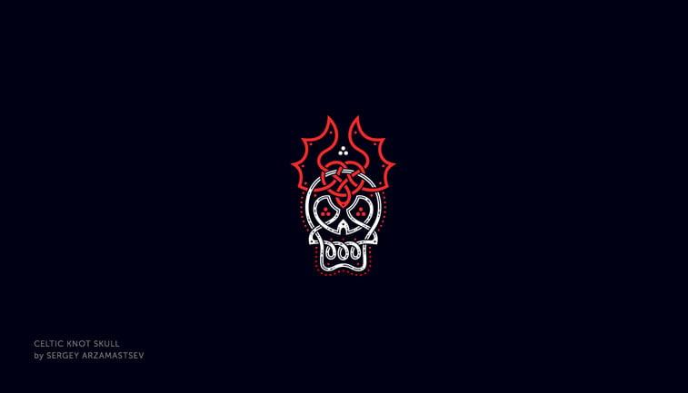 dizajn logoa - noć veštica 6