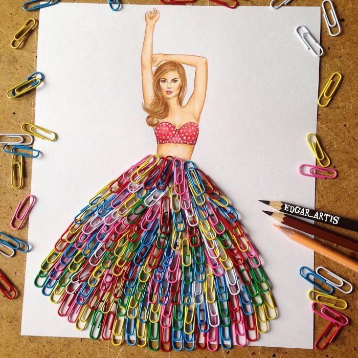 neobični dizajn haljina od predmeta za svakodnevnu upotrebu 14