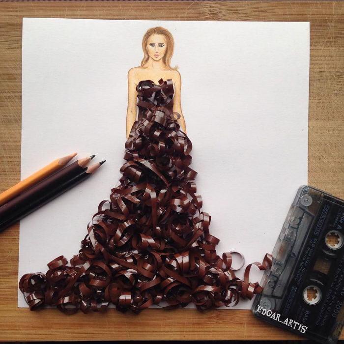 neobični dizajn haljina od predmeta za svakodnevnu upotrebu 15