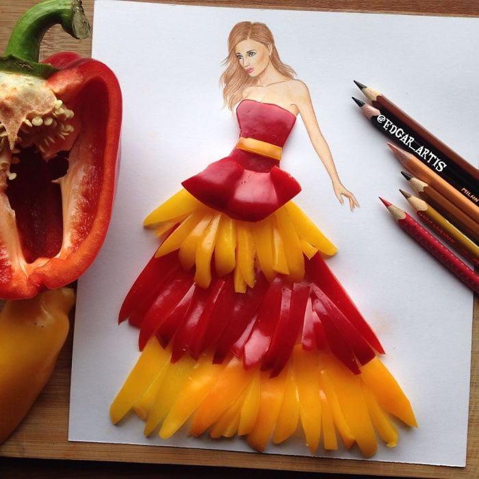 neobični dizajn haljina od predmeta za svakodnevnu upotrebu 24