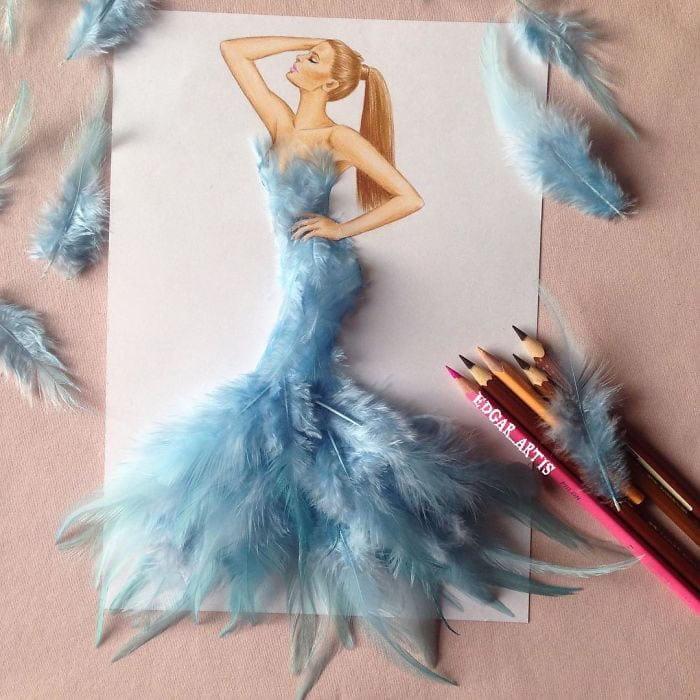 neobični dizajn haljina od predmeta za svakodnevnu upotrebu 4