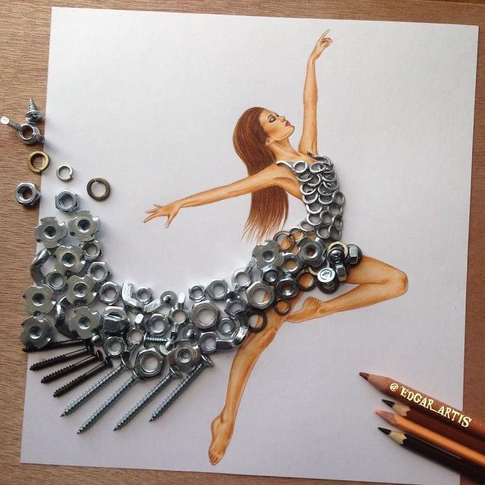 neobični dizajn haljina od predmeta za svakodnevnu upotrebu 7