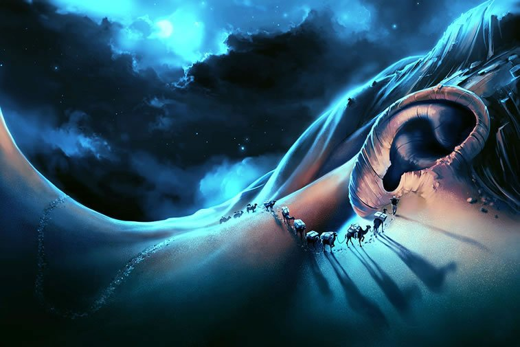 i want to talk to you digital paintings by cyril rolando