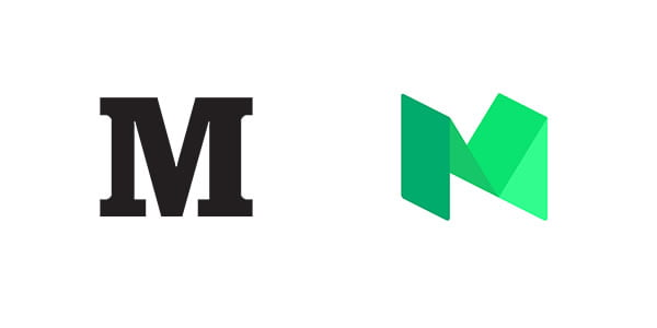 medium logo redesign