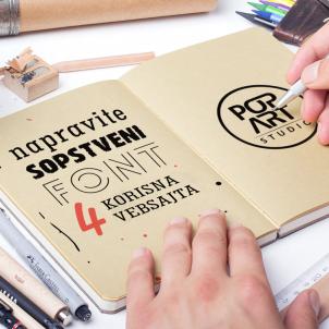 Napravite sopstveni font: 4 korisna vebsajta