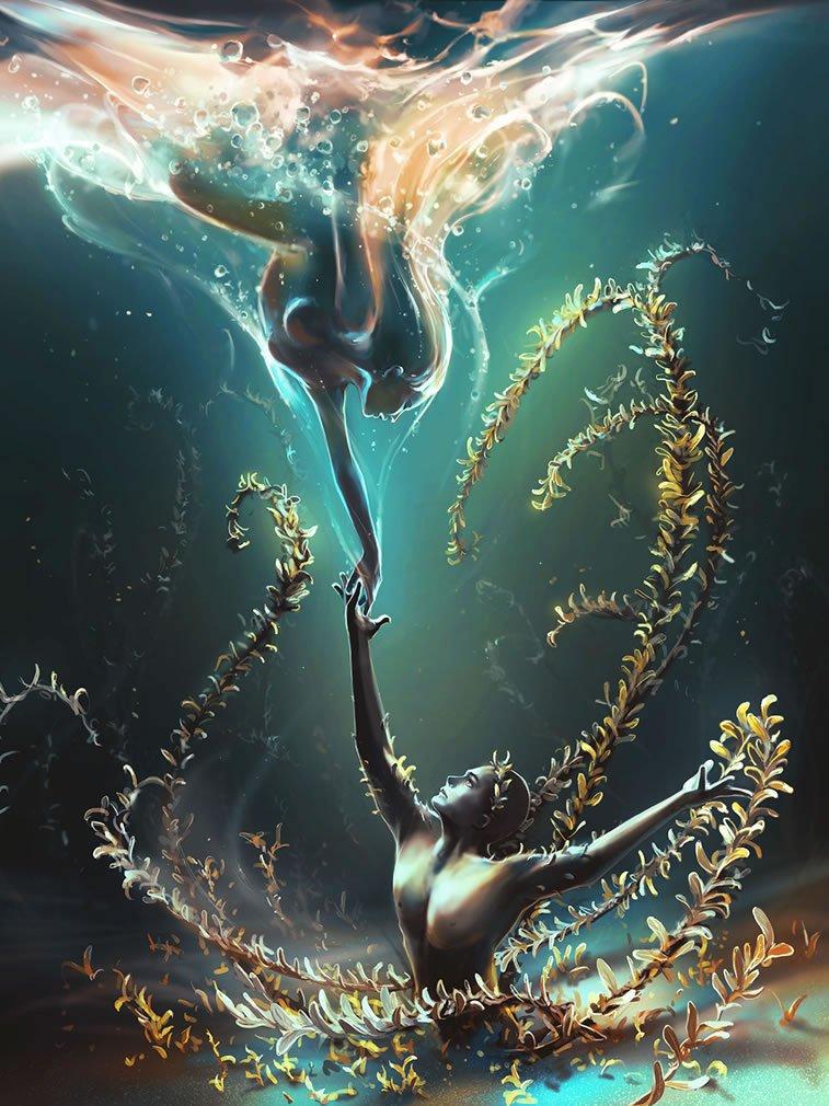 underwater ballet cyril rolando