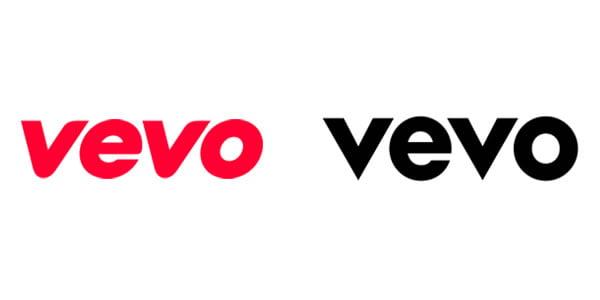 vevo logo redesign