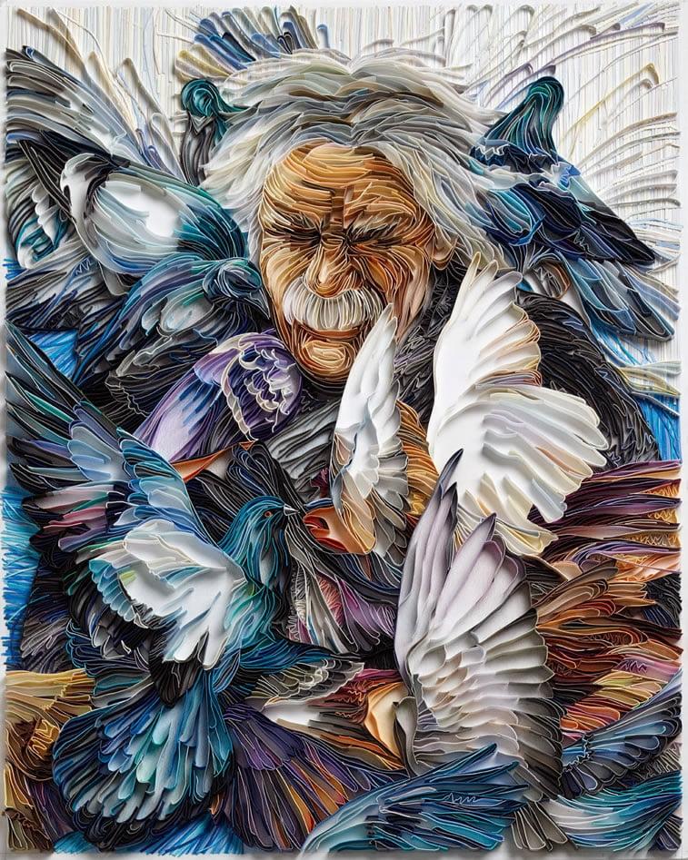 zanimljivi svet papirnih ilustracija Julije Brodskaje 1