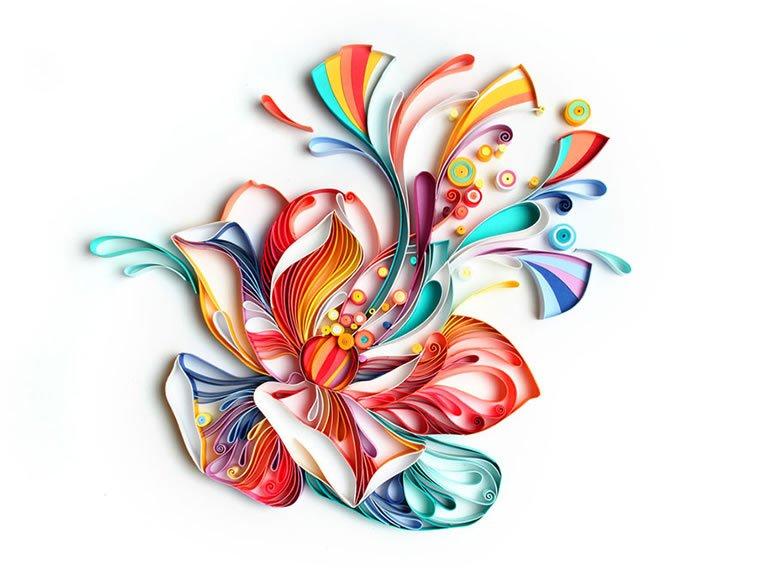 zanimljivi svet papirnih ilustracija Julije Brodskaje 10