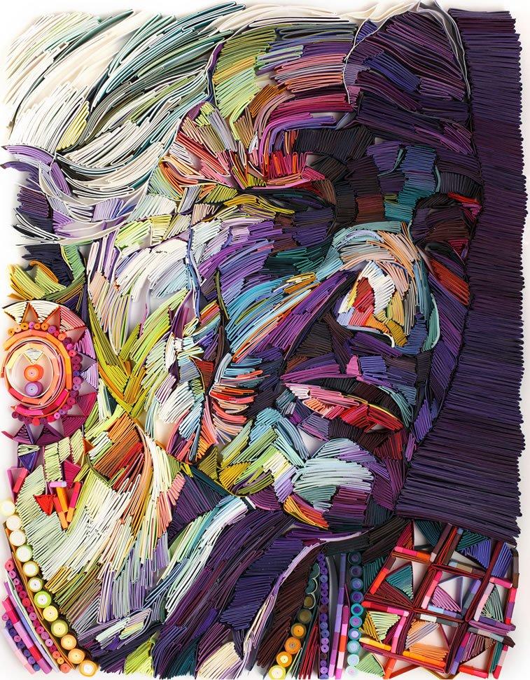 zanimljivi svet papirnih ilustracija Julije Brodskaje 14