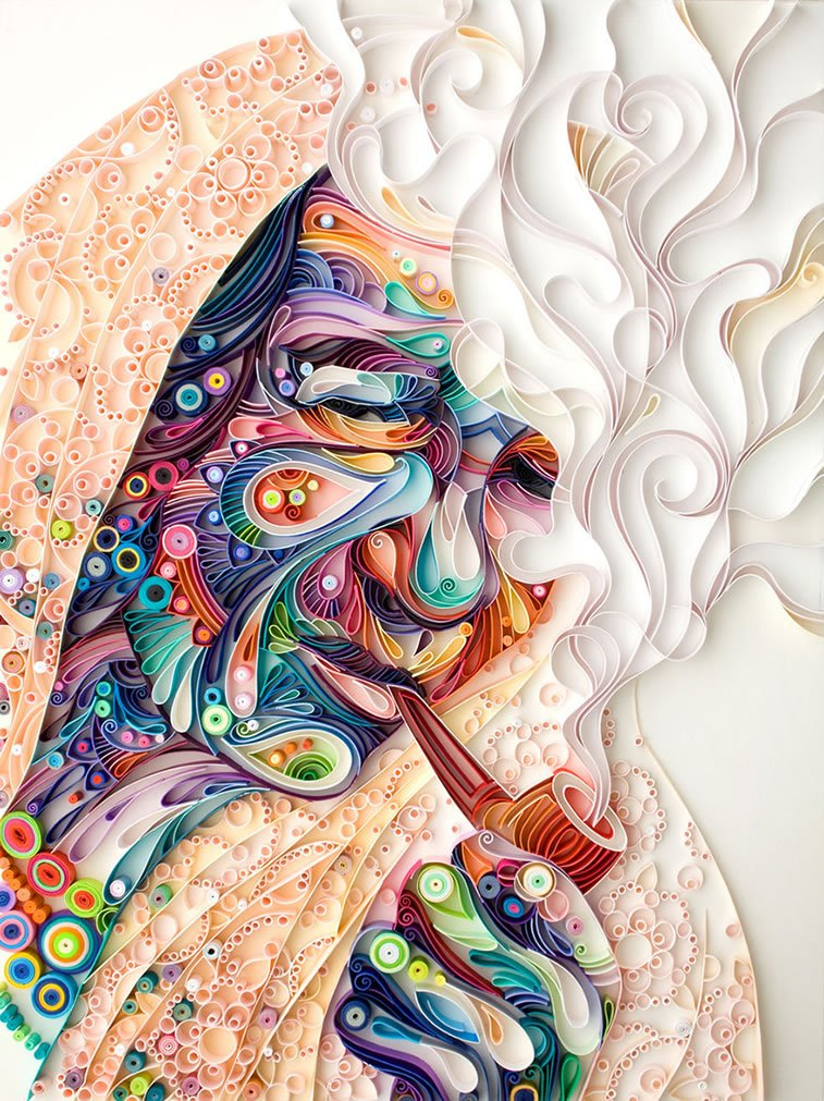zanimljivi svet papirnih ilustracija Julije Brodskaje 4