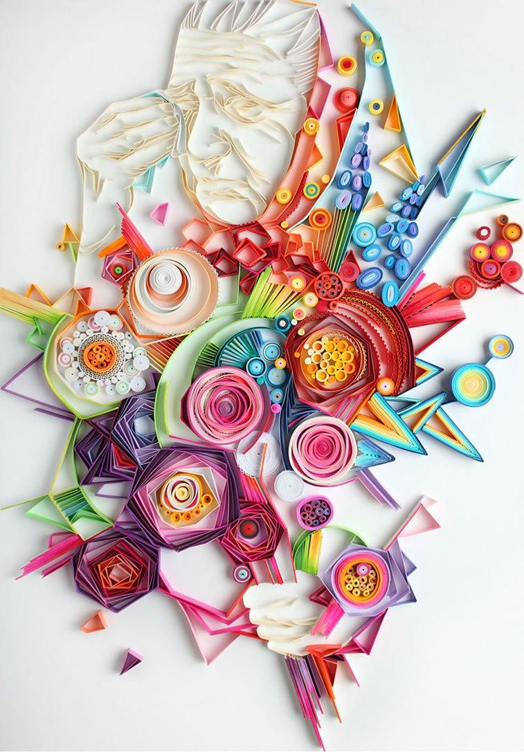 zanimljivi svet papirnih ilustracija Julije Brodskaje 6